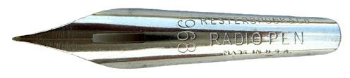 Antike Pfannenfeder, R. Esterbrook & Co, No. 968, Radio Pen