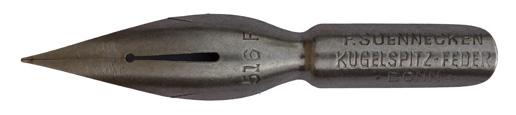 F. Soennecken, Kugelspitzfeder No. 516 F, Typ 1
