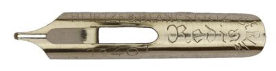 Antike Schreibfeder, Heintze & Blanckertz, No. 1140-1, Kleine Redis
