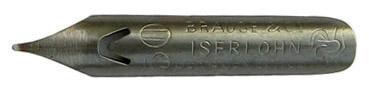 Antike Pfannenfeder, Brause & Co, No. 50, Pfannenfeder, Typ 1