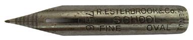 Antike Schreibfeder, R. Esterbrook & Co, No. 756