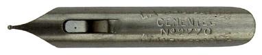 Antike Schreibfeder, Blanzy-Conté-Gilbert, No. 2770, Babillarde Cementée