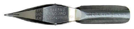 Geo. W. Hughes, No. 1335 EF. H.P., Platernal Pen, Unterseite