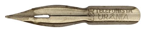 Antike Pfannenfeder, Industria Brasileira, No. 0278, Telefonista Urania