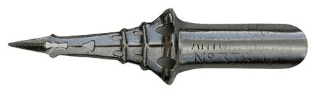 Unbekannter Hersteller, No. 378 EF, Penna Antonelliana, Eifelturmfeder, Grau