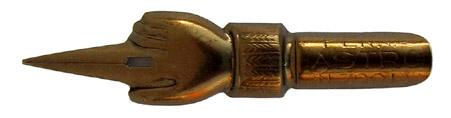 Antike Spitzfeder, LUS, No. 700 EF, Penna Astra
