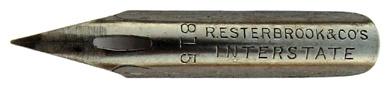 Spitzfeder, R. Esterbrook & Co, No. 815, Interstate Pen
