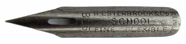 Kalligraphie-Spitzfeder, R. Esterbrook & Co, No. 815, School Fine Flexible