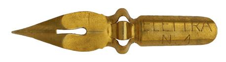 Antike Spitzfeder, Elettra No. 1, Typ 1