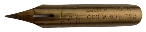 George W. Hughes, 5 Slits, Bank Pen