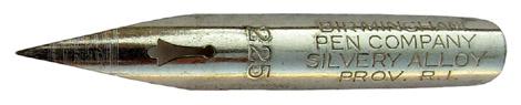 The Birmingham Pen Co, No. 225, Silver Alloy