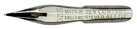 The Birmingham Pen Co, No. 226, Silver Alloy