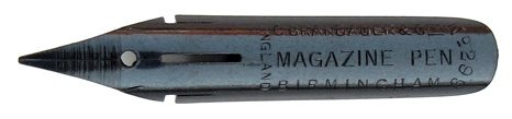 C. Brandauer & Co Ltd, No. 299, Magazine Pen