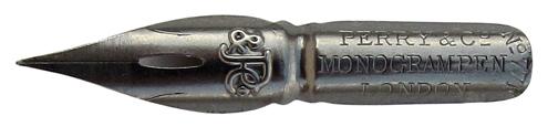 Perry & Co Ltd, No. 77 F, Monogram Pen