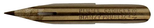 Blanzy Poure & Cie, No. 81, Plume Caducée (Merkurstab)