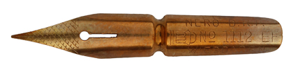 Kalligraphie Spitzfeder, Nero, No. 1112 EF, DRP