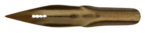Kalligraphie Spitzfeder, Radius Ltd., No. 354 EF