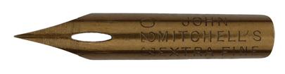 Antike Spitzfeder, John Mitchell, No. 023, Extra Fine