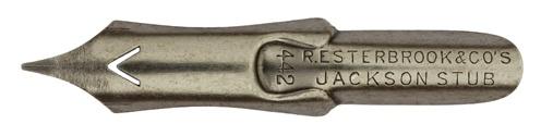 Antike Spitzfeder, R. Esterbrook & Co., No. 442, Jackson Stub Pen
