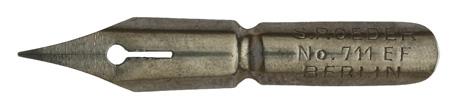 Antike Spitzfeder, S. Roeder, No. 711 EF