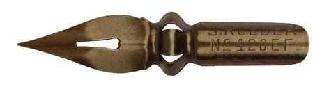 Antike Spitzfeder, S. Röder, No. 420 EF