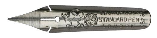 Antike Spitzfeder, Thomas Bower & Son, No. 450, Standard Pen