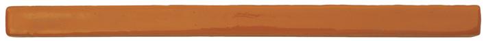 Siegellack, Banklack aus Harzen, Schellack und orangenen Farbpigmenten