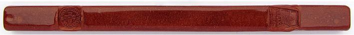 Siegellack Blutgold