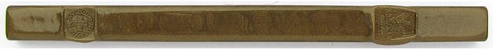 Siegellack Bronze