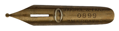 Baignol & Farjon, No. 0899, Mercator
