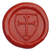 Siegelstempel-Platte, Wappen