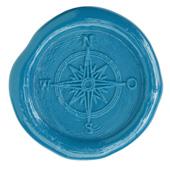 Siegelstempel-Platte, Kompass