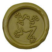 Siegelstempel-Platte, Frosch-2