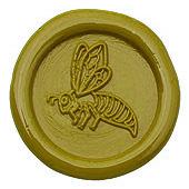 Siegelstempel-Platte, Biene