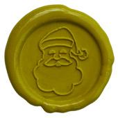 Siegelstempel-Platte, Weihnachtsmann