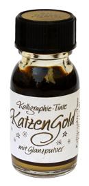 Katzengold, Kalligraphie-Tinte
