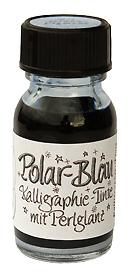 Polar-Blau Kalligraphie-Tinte