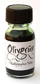 Olivgrün Kalligraphie-Tinte