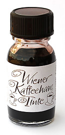 Wiener Kaffeehaus-Tinte Kalligraphie-Tinte