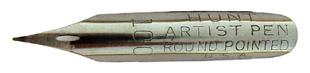 C. Howard Hunt Pen Co, No. 100, Hunt Artist Pen