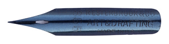 Antike Zeichenfeder, R. Esterbrook & Co, No. 355, Art & Drafting, Typ 1