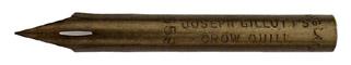 Zeichenfeder, Joseph Gillott, No. 659, Crow Quill