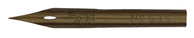 Brause und Co, No. 515, Röhrchenfeder, Typ 1