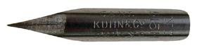 Zeichenfeder, Carl Kuhn & Co, No. 515 H