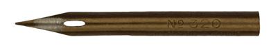 Antike Zeichenfeder, Gilbert & Blanzy-Poure, No. 320, Plume Lilliput