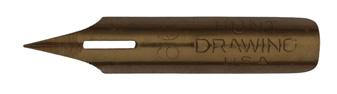 Antike Spitzfeder, C. Howard Hunt Pen Co, No. 99, Drawing, Typ 1
