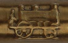 Antike Spitzfeder, Librairie Générale des Écoles, Meaux, Detail