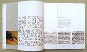 Schriftspiele, Denise Lach, Experimentelle Kalligraphie, Beispiel 6