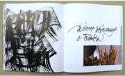 Schriftspiele, Denise Lach, Experimentelle Kalligraphie, Beispiel 8