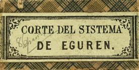 Antike Schreibfederschachtel, Corte Del Sistema De Eguren